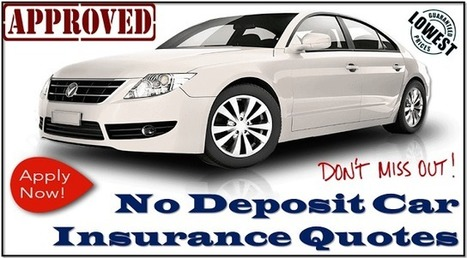 No Deposit Car Insurance For First Time Drivers With Affordable Rate | One Day Car Insurance Quote | Scoop.it