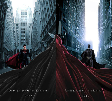 The Best Batman Vs. Superman Movie Posters By Fans | Entertainment | Scoop.it