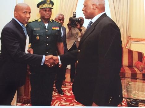 Le CEO de Lobbyist République reçu par le président Dos Santos | Les news de Kimberley Bank | Scoop.it