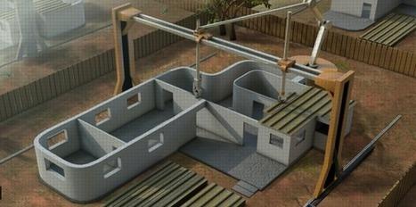 Une imprimante 3D pour construire des maisons en 24 heures | 3D | Scoop.it