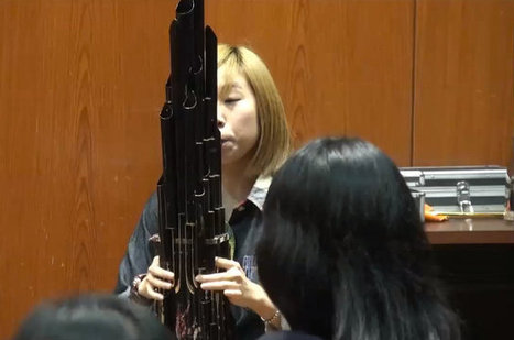 Girl Plays Super Mario Theme On Ancient Chinese Instrument | Corusca | Scoop.it