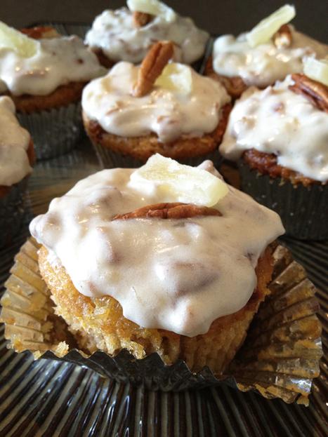 Vegan Carrot-Praline Cake (or Cupcakes) | Cakes & Bakes | Scoop.it