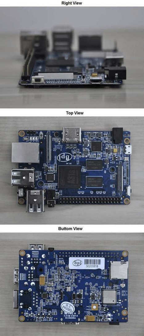 Banana Pi M2 Alternative to Raspberry Pi 2 - AndroidPimp | Raspberry Pi | Scoop.it