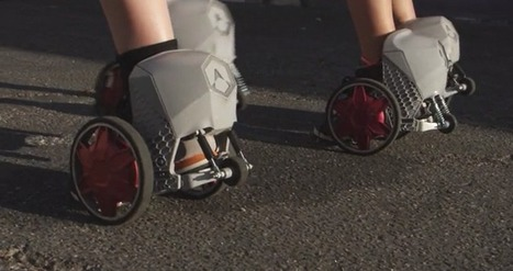 RocketSkates bring motors to your feet | leapmind | Scoop.it