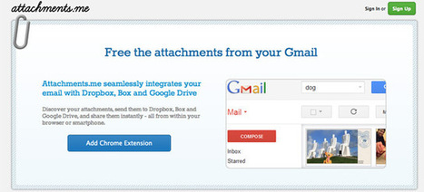 Attachments.me announces tight Gmail, Dropbox & Google Drive integration | GadgeTell | App Buzz | Scoop.it