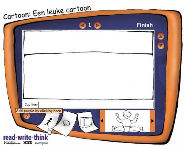 Edu-Curator: Comic Creator: leuke gratis, eenvoudige online tool waarmee leerlingen cartoons en strips kunnen maken | Educatief Internet - Gespot op 't Web | Scoop.it
