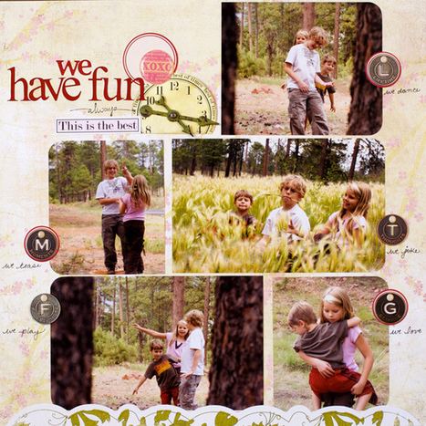 Ten Scrapbook Layout Ideas With 5 to 6 Photos   Paperclipping   Scrapbooking Ideas   Scoop.it