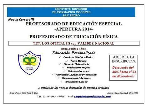 Instituto Superior de Formación Docente San Pedro   Fomación de formadores   Scoop.it