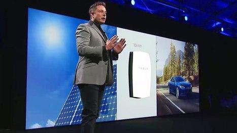 ▶ Elon Musk Debuts the Tesla Powerwall - YouTube | Développement durable et efficacité énergétique | Scoop.it