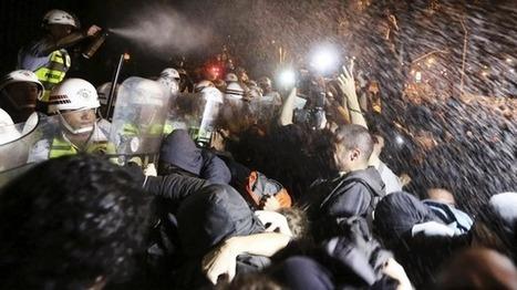 Moroccan riot police break protest against Spanish pedophile pardon | Daniel Vino Galvan Case | Scoop.it