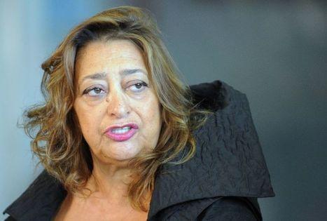 Mort de l'architecte Zaha Hadid, star et pionnière | Dans l'actu | Doc' ESTP | Scoop.it