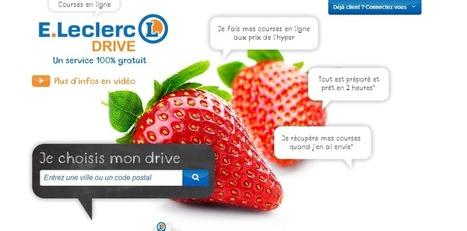 Nouveau cap franchi pour E. Leclerc Drive | Drive : concept à succès | Scoop.it