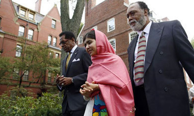 Malala Yousafzai honoured at Harvard for humanitarian work ... | relationships | Scoop.it