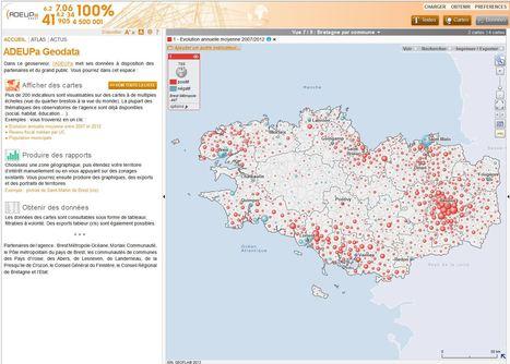 Adeupa Geodata, un Geoserveur à votre disposition pour partager, valoriser nos connaissances | Portail de veille en Géomatique de l'ADEUPa | Scoop.it