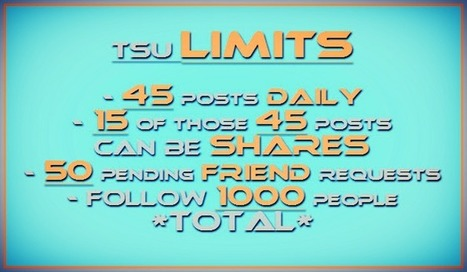 Tsu Posting Limits keep me creative, motivated and inspired | Home Based Business | Scoop.it