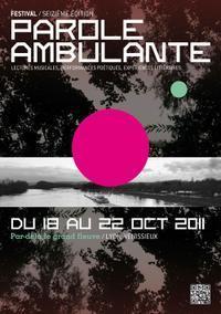 Festival Parole Ambulante   Art contemporain et culture   Scoop.it