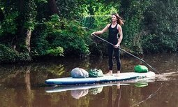 Woman paddleboarding England's canals finds thousands of plastic items | Farming, Forests, Water, Fishing and Environment | Scoop.it