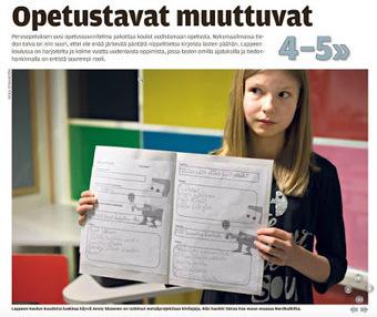 Hellström: Pedagogiikkaa ja koulupolitiikkaa II: Oppilaan rooli muuttuu Lappenrannassa | Digital TSL | Scoop.it