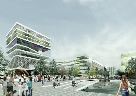 Urban Regeneration in Sweden: H+ by Erik Giudice Architects | green streets | Scoop.it