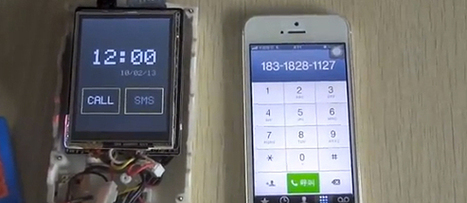 DIY Arduino cellphone made of off-the-shelf parts | HUng | Scoop.it