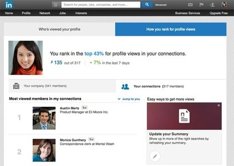 See How Your Profile Compares to Others on LinkedIn | Linkedin | Scoop.it