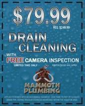 Save $170 on Drain Cleaning Service with Mammoth Plumbing - PRWeb - PR Web (press release) | Drain Cleaning Service Acworth | Scoop.it