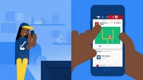 Facebook veut récupérer les fans de sports qui privilégient Twitter | Midenews Everywhere | Scoop.it