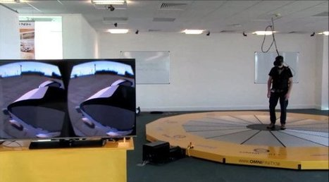 Large virtual reality treadmill available for rent in Milton KeynesHypergrid Business | Metaverse NewsWatch | Scoop.it