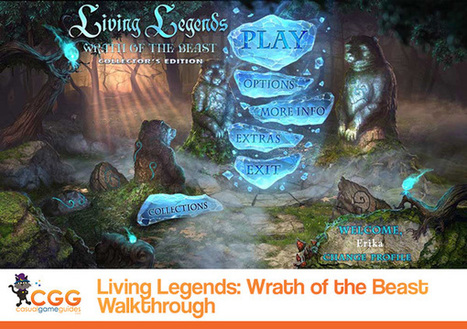 Living Legends - Wrath of the Beast Walkthrough: From CasualGameGuides.com | Casual Game Walkthroughs | Scoop.it