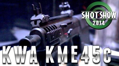Shot Show 2014 - KWA KME45c - YouTube