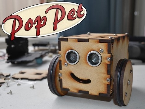 PopPet: DIY, Arduino Compatible, Open Hardware, Robot Kit | Open Source | Scoop.it