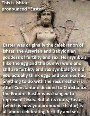 Easter Is Not Named After Ishtar, And Other Truths I Have To Tell You | Correcting Bogus Etymology | Scoop.it