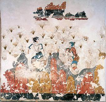 Une année au Louvre: Couleurs dans la Grèce antique : Crête et Santorin | Mundo Clásico | Scoop.it