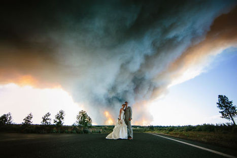 Natural Disasters Are the Hottest New Trend in Wedding Photography - io9   Photography   Scoop.it