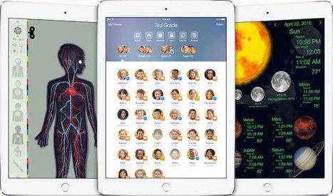Apple propose sa nouvelle application En classe sur l'App Store | TICE et Pédagogie | Scoop.it