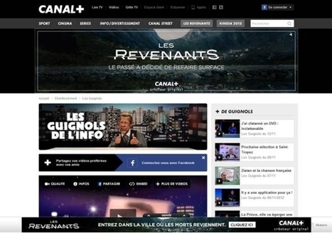 Canal+ Régie inaugure un format vidéo, le Billboard+ | Web Marketing Magazine | Scoop.it