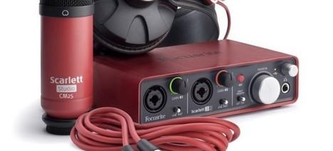 Focusrite Scarlett Studio – Sound | High-Tech news | Scoop.it