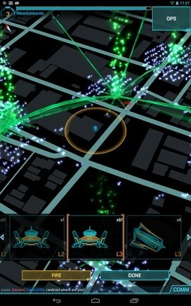 """Love this game :) Augmented Reality Game """"Ingress"""" Beta Now Open For The Rest Of Us - IZARDNET 