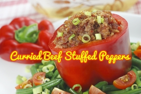 Curried Beef Stuffed Peppers | Best Easy Recipes | Scoop.it