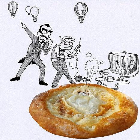 Comics In The Kitchen: Humorous Illustrations By Massimo Fenati | El Mundo del Diseño Gráfico | Scoop.it