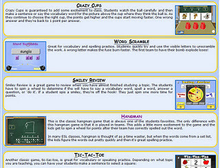 InTec InSights: Technology Integration Ideas for the Classroom: Vocabulary Games for Your Smartboard | Integrating Technology in the Classroom | Scoop.it