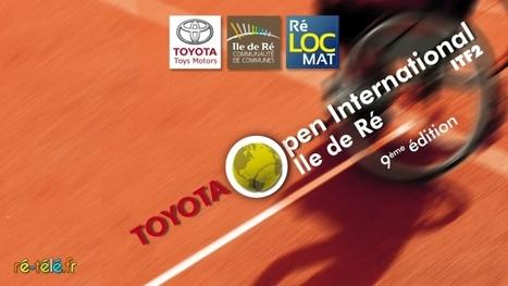 Tennis handisport : 101 joueurs de 17 pays s'affrontent lors du 9ème Toyota Open international de l'Ile de Ré | Handisport | Scoop.it