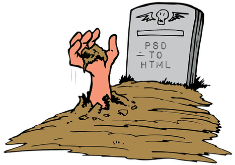 PSD To HTML Really is Dead? | Web Design | Scoop.it