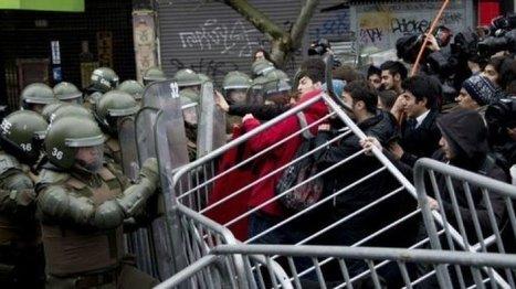 Au Chili, le mouvement étudiant se radicalise à six mois de la ... - FRANCE 24 | Research and Higher Education in Europe and the world | Scoop.it