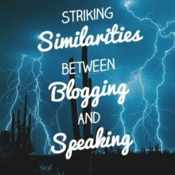 5 Striking Similarities Between Blogging and Public Speaking - Business 2 Community | Public Speaking News | Scoop.it