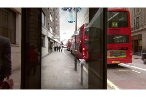 Pepsi's bus stop ad in London might be the best use of augmented reality yet | Social brands | Scoop.it