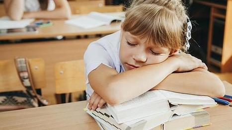 Para sacar buenas notas en matemáticas, inglés y lengua hay que dormir bien | Economía&ADE | Scoop.it