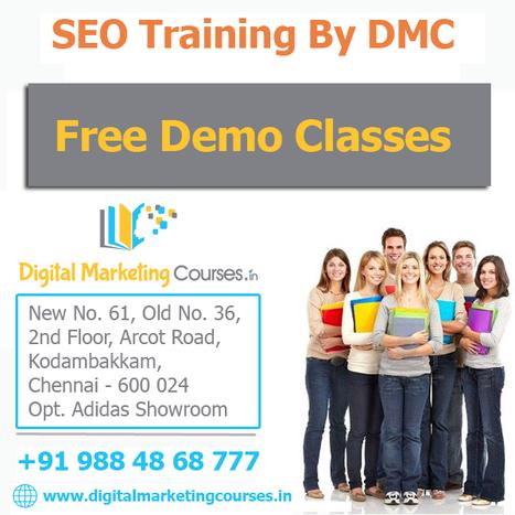 Best SEO Training Institute in Chennai – DMC | Digital Marketing Courses | Scoop.it