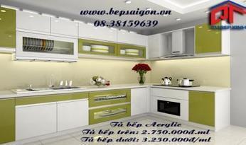 Tủ bếp chữ L   Thiết kế nội thất Tủ bếp xinh   Tủ bếp 2014 mang phong cách hiện đại.   Scoop.it