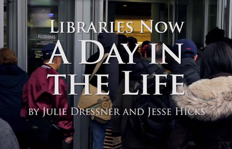 Video: Libraries now A day in the life - Julie Dressner and Jesse Hicks | The Information Professional | Scoop.it